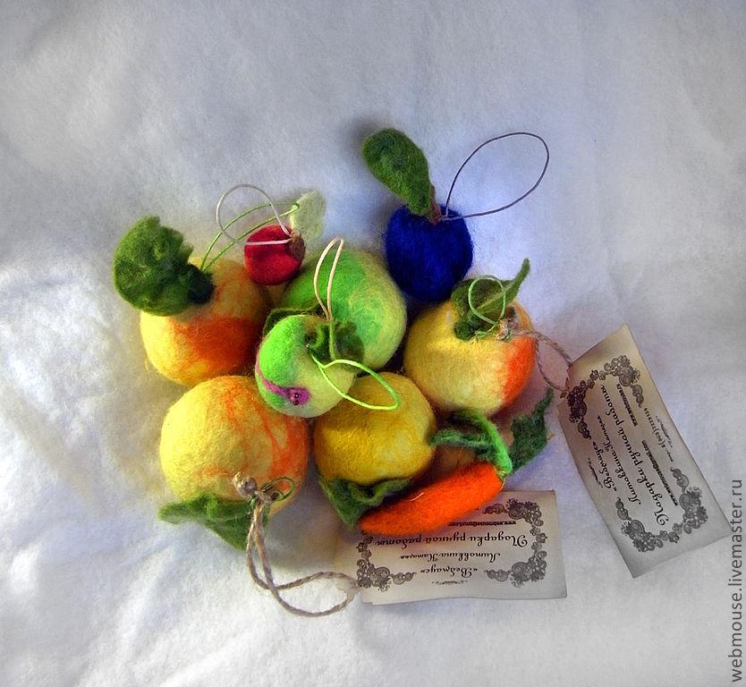 Ёлочные игрушки. Теплые и разные, Елочные игрушки, Москва,  Фото №1