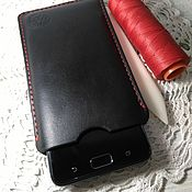 Чехол ручной работы. Ярмарка Мастеров - ручная работа Чехол черный для любого телефона. Handmade.