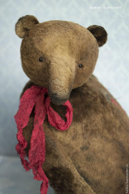 Мишки Тедди ручной работы. Ярмарка Мастеров - ручная работа. Купить Эндрю. Handmade. Коричневый, медвежонок, мишки тедди винтаж