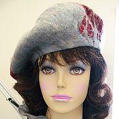 """Шляпы ручной работы. Ярмарка Мастеров - ручная работа Комплект """"Багряные листья Тайфи"""". Handmade."""