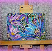 """Картины и панно ручной работы. Ярмарка Мастеров - ручная работа Картина """"Цветочный вальс"""". Handmade."""