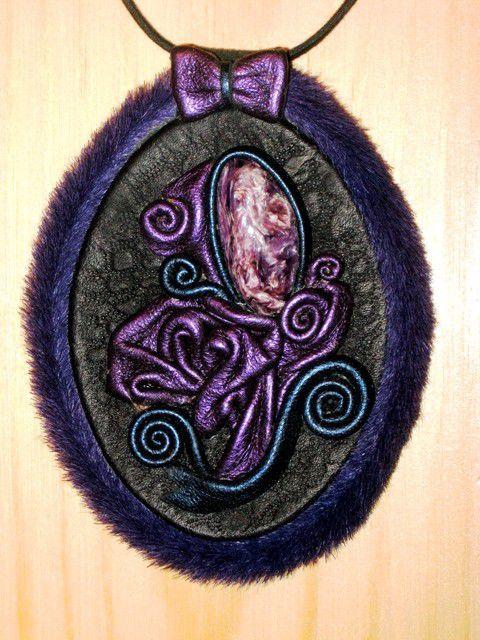 """Кулоны, подвески ручной работы. Ярмарка Мастеров - ручная работа. Купить подвеска """"Фиолет"""". Handmade. Украшения ручной работы"""