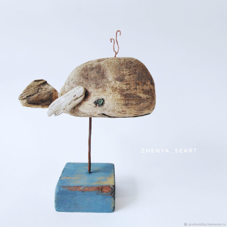 """Маленький кит"", Дрифтвуд арт, Модели, Адлер, Фото №1"