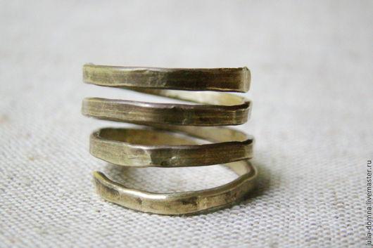 Кольца ручной работы. Ярмарка Мастеров - ручная работа. Купить Латунное кольцо Змейка. Handmade. Кольцо, стильное кольцо