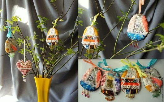 Подарки на Пасху ручной работы. Ярмарка Мастеров - ручная работа. Купить Пасхальные сувенирные яйца. Handmade. Пасха, пасхальные подарки