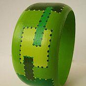 Украшения ручной работы. Ярмарка Мастеров - ручная работа Браслет светло зеленый. Handmade.