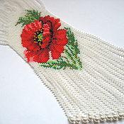 Украшения handmade. Livemaster - original item Gaitan poppy flowers. Handmade.