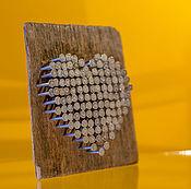 Подарки к праздникам handmade. Livemaster - original item wooden decorative panel «Heart». Handmade.