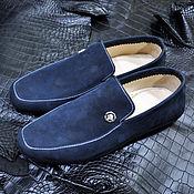 Обувь ручной работы handmade. Livemaster - original item Men`s moccasins, made of natural suede or nubuck.. Handmade.