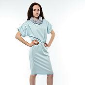 Одежда ручной работы. Ярмарка Мастеров - ручная работа Платье спортивный силуэт (3 цвета на выбор). Handmade.