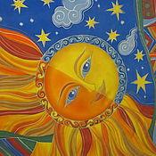 Аксессуары ручной работы. Ярмарка Мастеров - ручная работа Солнце и Луна. Handmade.