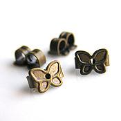 Материалы для творчества handmade. Livemaster - original item Plugs for puset earrings pair. Handmade.