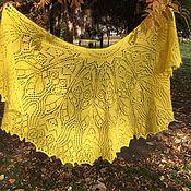 Аксессуары handmade. Livemaster - original item Shawl from the wool mink sunlight. Handmade.