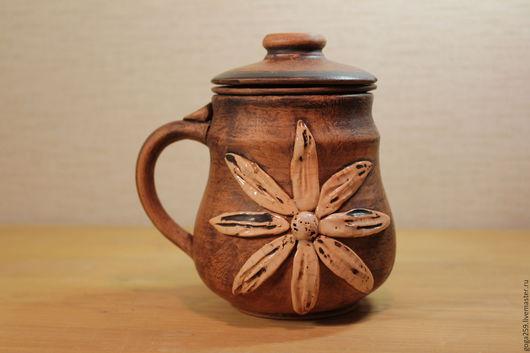 Кружки и чашки ручной работы. Ярмарка Мастеров - ручная работа. Купить Кружка чайная -заварочная. Handmade. Керамика ручной работы