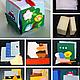 Кубик `Застёжки` Состав набора