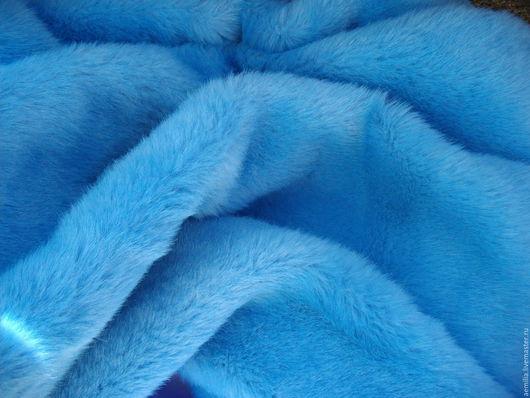 Шитье ручной работы. Ярмарка Мастеров - ручная работа. Купить мех искусственный голубой Беларусь. Handmade. Голубой, ткань, одеяло