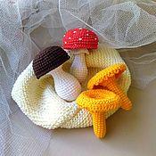 Куклы и игрушки handmade. Livemaster - original item Knitted toys. Mushrooms.. Handmade.