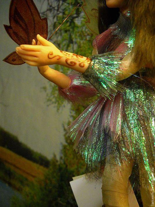 Коллекционные куклы ручной работы. Ярмарка Мастеров - ручная работа. Купить Портретная кукла Эльфик Альбина. Handmade. Васильковый