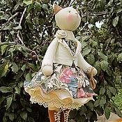 """Куклы и игрушки ручной работы. Ярмарка Мастеров - ручная работа Кошка """"В застывшем воздухе осеннего тепла..."""". Handmade."""