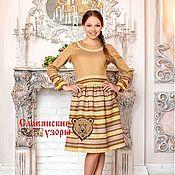 Одежда handmade. Livemaster - original item Dress in the Russian style