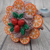 Посуда ручной работы. Ярмарка Мастеров - ручная работа Ложка сладкая Тортики. Handmade.