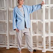 Одежда ручной работы. Ярмарка Мастеров - ручная работа пальто короткое женское. Handmade.
