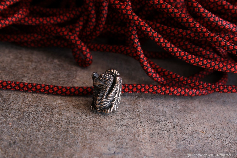 Dragon lanyard bead ,knife bead, Knives, Volgograd,  Фото №1