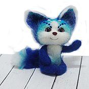 Куклы и игрушки ручной работы. Ярмарка Мастеров - ручная работа Лисичка Аватарчик Интерьерная игрушка из шерсти. Handmade.