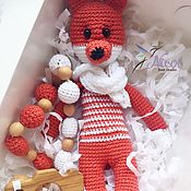 Куклы и игрушки handmade. Livemaster - original item The Fox and slingobusy. Children`s soft toy. Handmade.