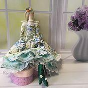 Куклы Тильда ручной работы. Ярмарка Мастеров - ручная работа Тильда-ангел: кукла Ева в стиле бохо. Handmade.
