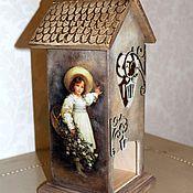Для дома и интерьера ручной работы. Ярмарка Мастеров - ручная работа Чайные домики. Handmade.