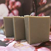 handmade. Livemaster - original item NATURAL SOAP FROM SCRATCH WITH MINERAL MUD OF THE DEAD SEA