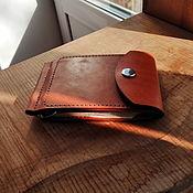 Сумки и аксессуары handmade. Livemaster - original item Money clip made of genuine leather. Handmade.