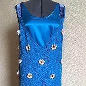 Одежда handmade. Livemaster - original item Crochet dress in the style of the 30`s