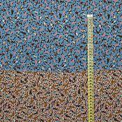 Материалы для творчества ручной работы. Ярмарка Мастеров - ручная работа Вискоза нежная компаньоны бежевого и голубого цвета. Handmade.