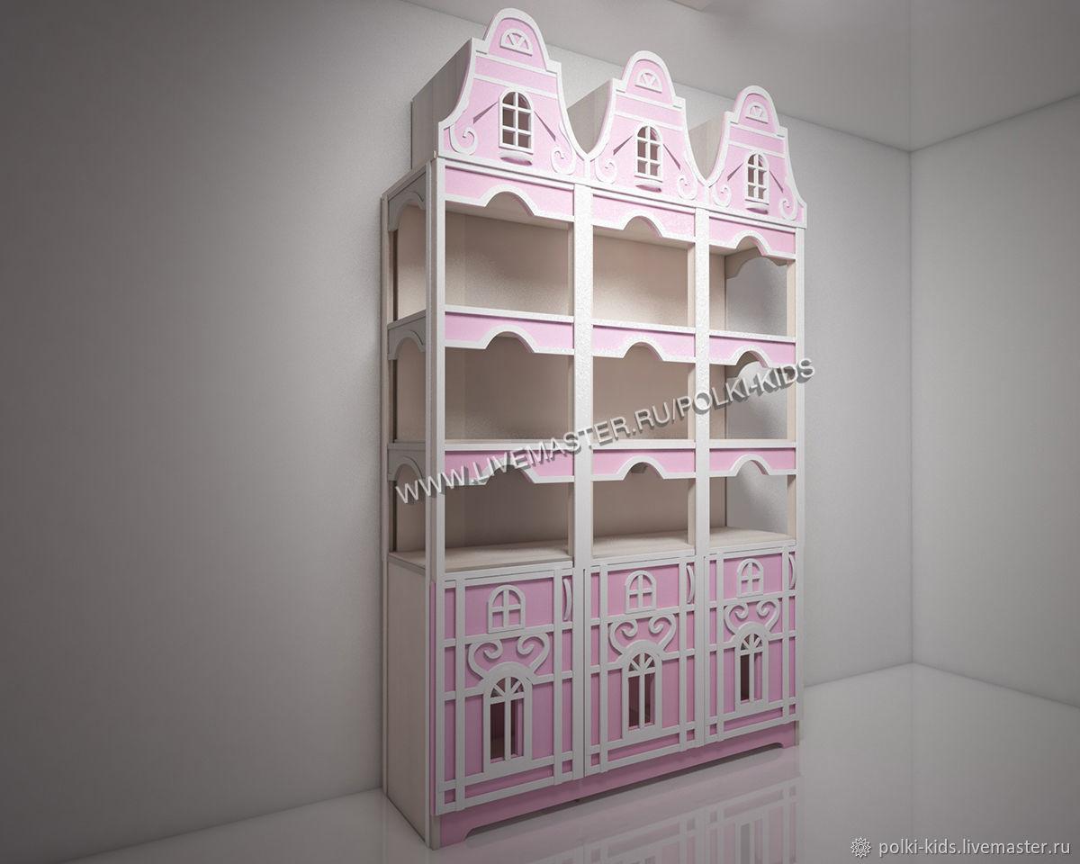 Мебель для детской Шкаф домик Венеция-1, Стеллажи, Санкт-Петербург,  Фото №1
