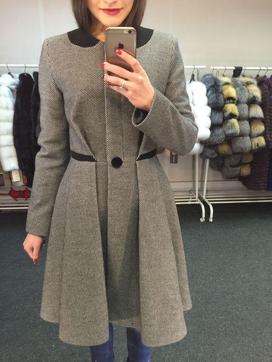 Верхняя одежда ручной работы. Ярмарка Мастеров - ручная работа. Купить Пальто из шерсти и кашемира. Handmade. Пальто, жакет, кашемир