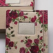 Канцелярские товары handmade. Livemaster - original item Album for a herbarium Rozotsvetnye (A4, 30 plants). Handmade.