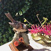 Винтаж handmade. Livemaster - original item Capodimonte figurine