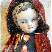"""Куклы и игрушки ручной работы. Ярмарка Мастеров - ручная работа Тедди-долл """"Красная Шапочка"""". Handmade."""
