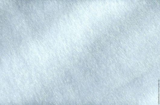 Шитье ручной работы. Ярмарка Мастеров - ручная работа. Купить Искусственный мех короткий ворс американский  белоснежный. Handmade. Белый
