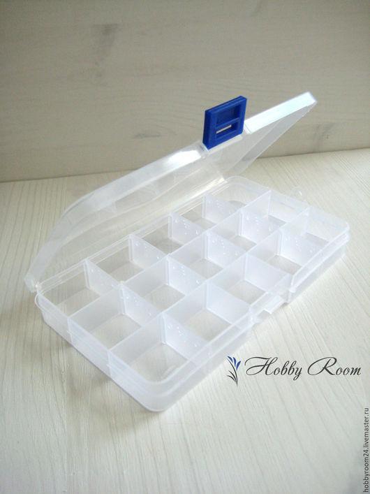 Органайзеры для рукоделия ручной работы. Ярмарка Мастеров - ручная работа. Купить Органайзер, контейнер для хранения 15 отделений. Handmade. Белый