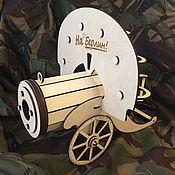 Подарки на 23 февраля ручной работы. Ярмарка Мастеров - ручная работа Бар-пулемёт. Handmade.