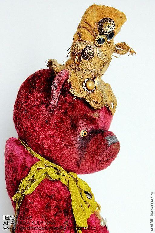 Мишки Тедди ручной работы. Ярмарка Мастеров - ручная работа. Купить Милая мишутка- кокетка Джоанна). Handmade. Винтажный стиль