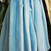 Материалы для творчества ручной работы. Ярмарка Мастеров - ручная работа Норка голубого цвета. Handmade.