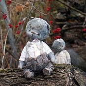 Куклы и игрушки ручной работы. Ярмарка Мастеров - ручная работа Грэй и Алиса. Handmade.