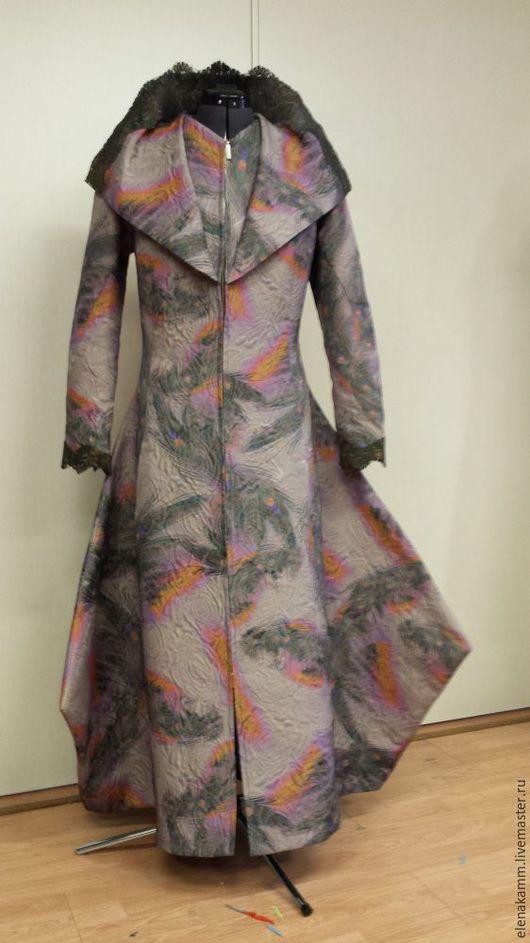 Верхняя одежда ручной работы. Ярмарка Мастеров - ручная работа. Купить Пальто королевское. Handmade. Пальто, эксклюзивное пальто