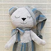Куклы и игрушки handmade. Livemaster - original item Sleeping bear-toy for sleeping. Handmade.