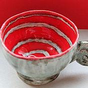 Посуда ручной работы. Ярмарка Мастеров - ручная работа Чашка Хранительница Тайн. Handmade.