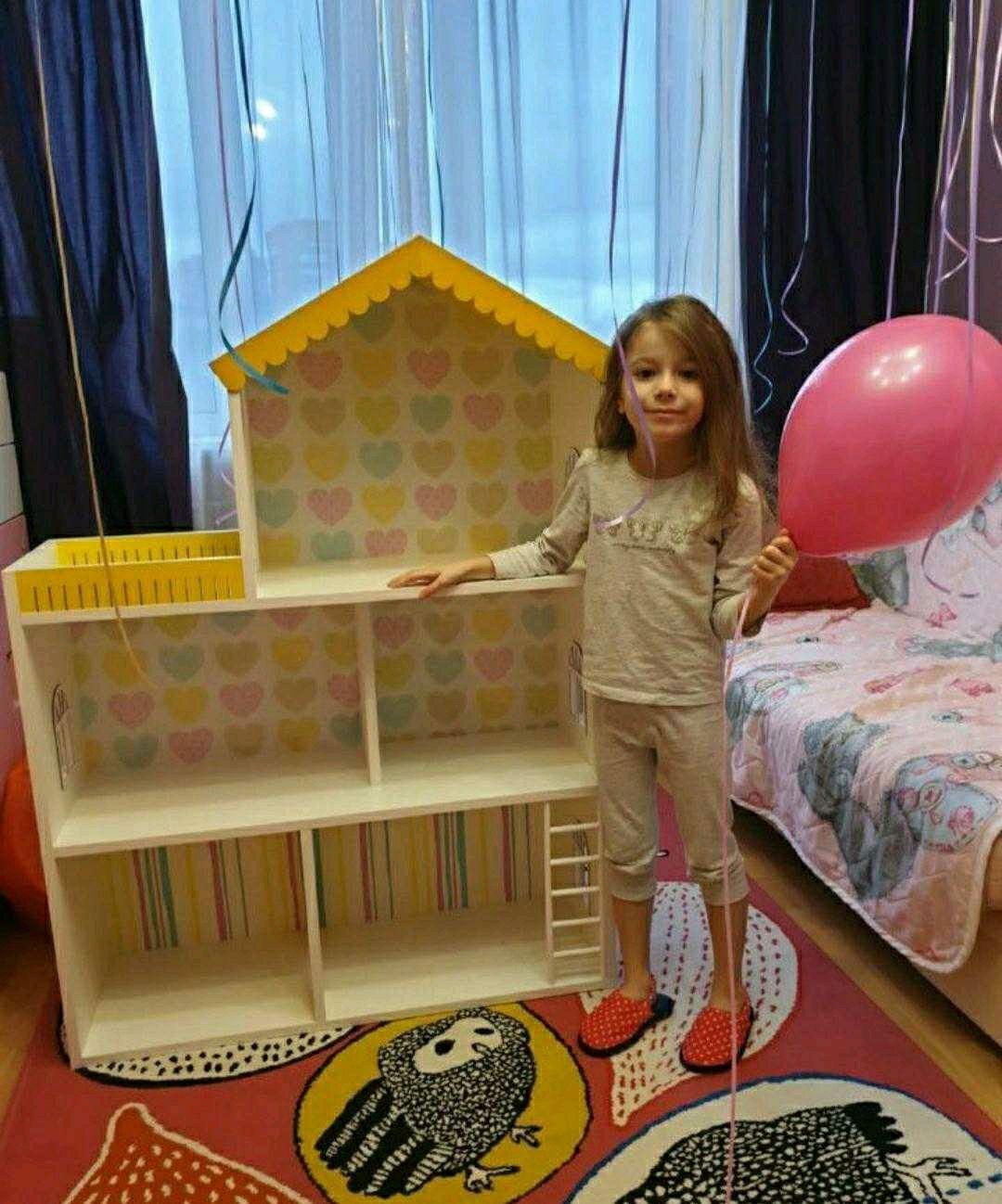 Кукольный домик-стеллаж, Кукольные домики, Колпино,  Фото №1